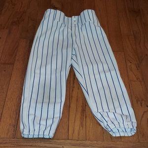 Team work youth small baseball Stripe pants